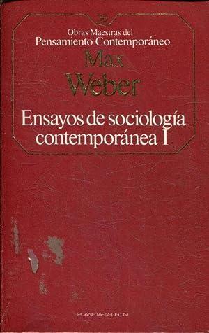 ENSAYOS DE SOCIOLOGIA CONTEMPORANEA. TOMO I.: WEBER Max.