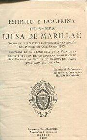 ESPIRITU Y DOCTRINA DE SANTA LUISA DE MARILLAC.