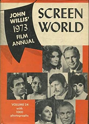 SCREEN WORLD VOLUME 24 WITH 1000 PHOTOGRAPHS.