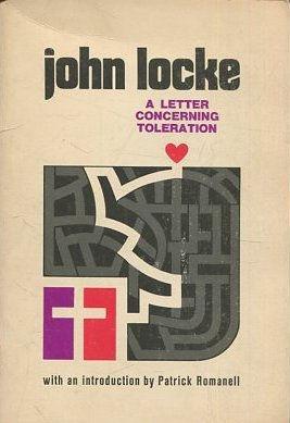 A LETTER CONCERNING TOLERATION.: LOCKE, John.
