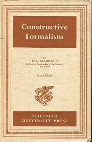 CONSTRUCTIVE FORMALISM. SECOND EDITION.