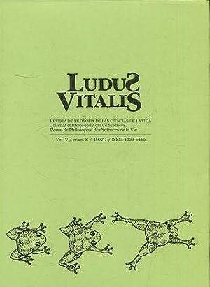 LUDUS VITALIS. REVISTA DE FILOSOFIA DE LAS: VV.AA.