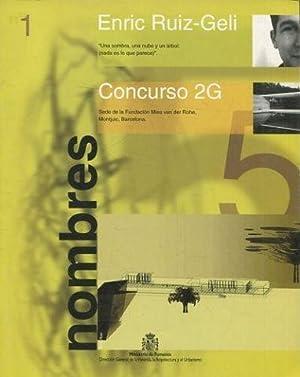 NOMBRES Nº 1. CONCURSO 2g. 'UNA SOMBRA,: RUIZ GELI, Enric.