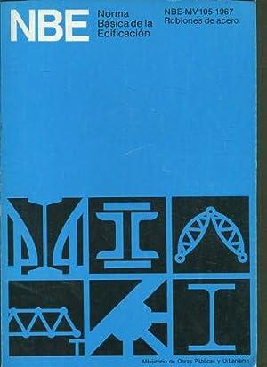 NORMA MV 105-1967. ROBLONES DE ACERO.: VV.AA.