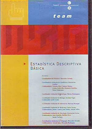 ESTADISTICA DESCRIPTIVA BASICA. CD ROM
