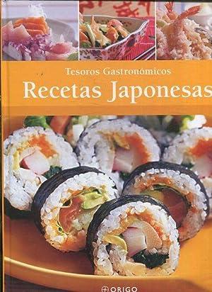 TESOROS GASTRONOMICOS. RECETAS JAPONESAS.: VV.AA.