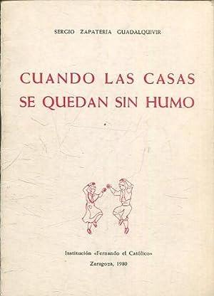 CUANDO LAS CASAS SE QUEDAN SIN HUMO.: ZAPATERIA GUADALQUIVIR, Sergio.