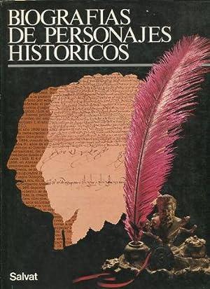 BIOGRAFIAS DE PERSONAJES HISTORICOS.: VV.AA.