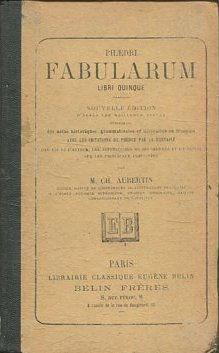 Fabularum Libri Quinque : Nouvelle Edition D'après: AUBERTIN, M. CH.
