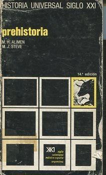 HISTORIA UNIVERSAL. PREHISTORIA.: ALIMEN/STEVE, M.H./M.J.
