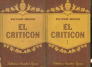 EL CRITICON ( 2 TOMOS).