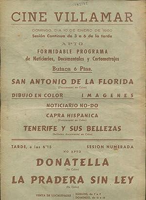 SAN ANTONIO DE LA FLORIDA / DIBUJOS: CARTEL DE CINE