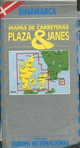 Mapa Carreteras Dinamarca