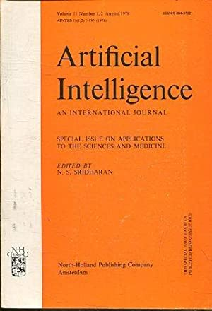 ARTIFICIAL INTELLIGENCE AN INTERNATIONAL JOURNAL. VOLUME 11, NUMBER 1-2 AUGUST 1978. SPECIAL ISSU...