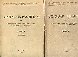 MINERALOGIA DESCRIPTIVA (2 VOLUMENES).: MARTINEZ STRONG/PEREZ MATEOS/GARCIA