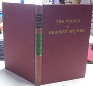 THE WORKS OF HERBERT SPENCER.VOL XVII: THE INADEQUACY OF NATURAL SELECTION. A REJOINDER TO PROF. ...