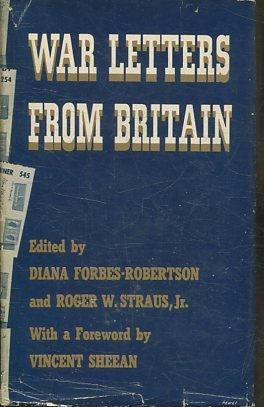 WAR LETTERS FROM BRITAIN.