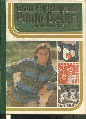GRAN ENCICLOPEDIA PUNTO Y COSTURA, GANCHILLO BORDADO: VV.AA.