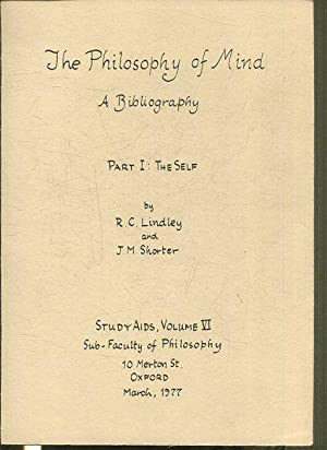 THE PHILOSOPHY OF MIND. A BIBLIOGRAPHY.