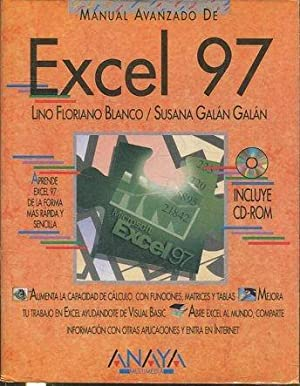 MANUAL AVANZADO DE EXCEL 97 + CD ROM.