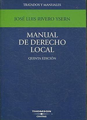 MANUAL DE DERECHO LOCAL.