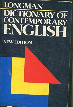 LONGMAN DICTIONARY OF CONTEMPORARY ENGLISH.