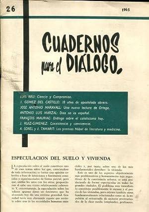 CUADERNOS PARA EL DIALOGO. Nº 26. 1965.