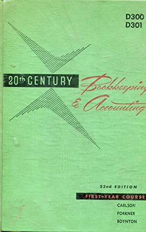 BOOKKEEPING AND ACCOUNTING 20th. CENTURY.