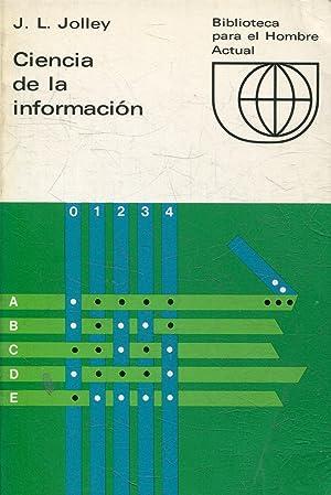 CIENCIA DE LA INFORMACION.: JOLLEY, J.L.