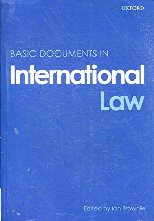 BASIC DOCUMENTS IN INTERNATIONAL LAW.