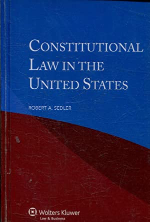 CONSTITUTIONAL LAW IN THE UNITED STATES.