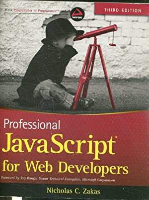 PROFESSIONAL JAVA SCRIPT FOR WEB EVELOPERS.
