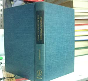IRRIGATION PRINCIPLES AND PRACTICES.: ISRAELSEN, Orson W.