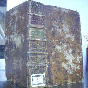 DICTIONARIUM MANUALE BIBLICUM. TOMUS I: A-M.: CALMET, Augustinus.