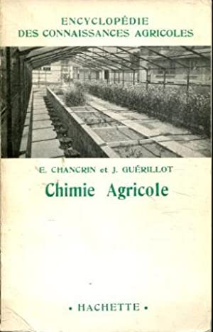 CHIMIE AGRICOLE.