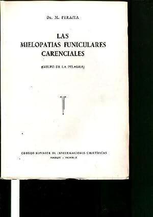 LAS MIELOPATIAS FUNICULARES CARENCIALES.: PERAITA Manuel.