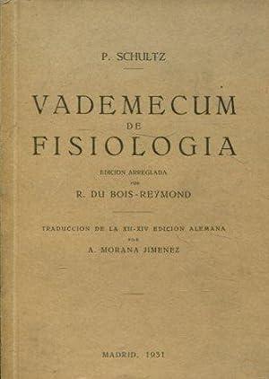 VADEMECUM DE FISIOLOGIA.: SCHULTZ, P.