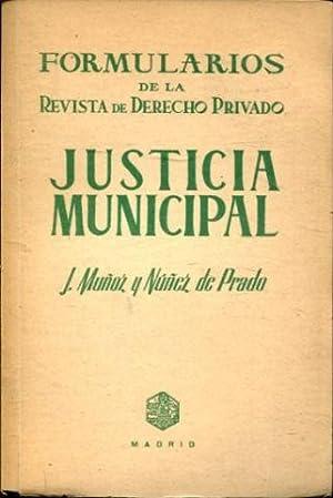 FORMULARIOS DE LA REVISTA DE DERECHO PRIVADO: MUÑOZ Y NUÑEZ