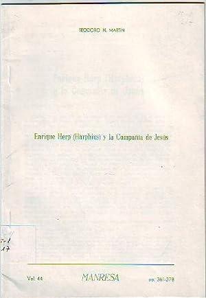 ENRIQUE HERP (HARPHIUS) Y LA COMPAÑIA DE: MARTIN Teodoro H.