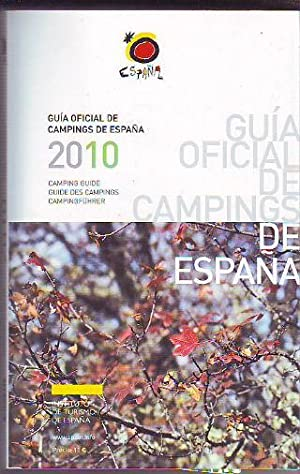 GUIA OFICIAL DE CAMPINGS DE ESPAÑA 2010 + CD ROM + MAPA /CAMPING GUIDE SPAIN 2010 + CD ROM + MAP ...