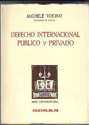 SINOPSIS DE DERECHO INTERNACIONAL PUBLICO Y PRIVADO.: VOCINO, Michele.