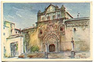 POSTAL ANTIGUA DE TOLEDO: HOSPITAL DE SANTA CRUZ/OLD POSTCARD OF TOLEDO: HOSPITAL DE SANTA CRUZ.