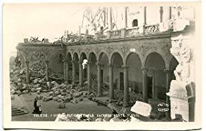 POSTAL ANTIGUA DE TOLEDO: VISTA PATIO DEL ALCAZAR. FACHADA NORTE Y ESTE/OLD POSTCARD OF TOLEDO: V...