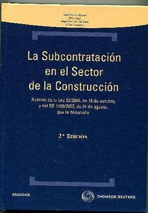LA SUBCONTRATACION EN EL SECTOR DE LA: GARCIA BLASCO/VAL TENA,