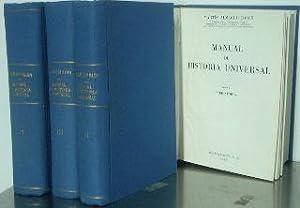 MANUAL DE HISTORIA UNIVERSAL (OBRA COMPLETA EN: ALMAGRO BASCH, Martin.