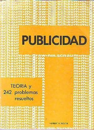 TEORÍA Y PROBLEMAS DE PUBLICIDAD.: HOLTJE, Herbert F.
