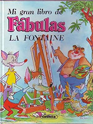 MI GRAN LIBRO DE FABULAS DE LA FONTAINE.