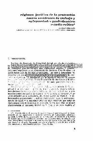 REGIMEN JURIDICO DE PROTECCION CONTRA ACCIDENTES DE TRABAJO Y ENFERMEDADES PROFESIONALES: ESTUDIO ...