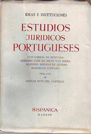 IDEAS E INSTITUCIONES. ESTUDIOS JURÍDICOS PORTUGUESES.