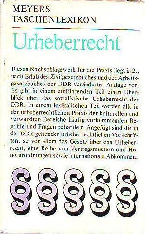 URHEBERRECHT.: GLÜCKSMANN, Anselm.